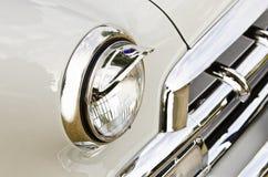 Retro Headlamp Stock Photo