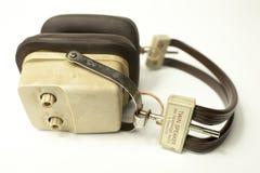 Retro headphones Royalty Free Stock Images