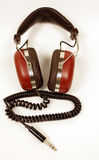 Retro headphones Royalty Free Stock Images