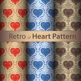 Retro heart. Royalty Free Stock Photo