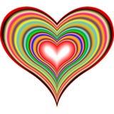 Retro hearts 2 Royalty Free Stock Photos