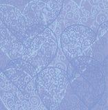 Retro Hearts Background Stock Image