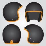Retro helm royalty-vrije stock fotografie