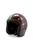 Retro helmet. Isolated on the white background stock photography