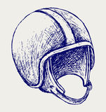 Retro helmet Stock Image