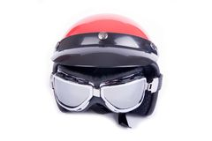 Retro helmet Royalty Free Stock Photos
