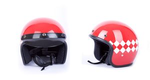 Retro helmets Royalty Free Stock Photography