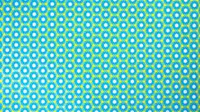 Retro Hexagon Gevormde Achtergrond Stock Foto