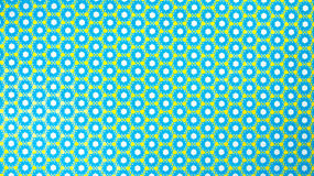 Retro Hexagon Patterned Background Stock Photo