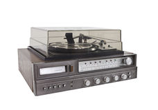 Retro Hi-Fi Stereo Isolated with Clipping Path stock images