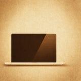 Retro hi-tech background. Vintage paper texture, retro hi-tech background Royalty Free Stock Photo