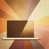 Retro hi-tech background Royalty Free Stock Photography