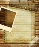 Retro- Hintergrund Lizenzfreie Stockfotografie