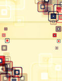 Retro- Hintergrund Stockbilder