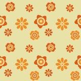 Retro- Hintergrund der Blume Lizenzfreies Stockfoto