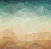 Retro- Hintergrund des abstrakten geometrischen Musters Stockbild