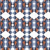 Retro- Hintergrund des abstrakten geometrischen Vektors Bunter Hintergrund lizenzfreie abbildung