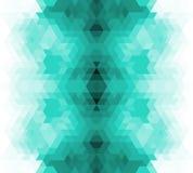 Retro- Hintergrund des Dreiecks. Stockfotos