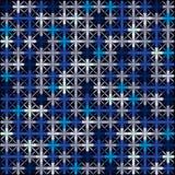 Retro- Hintergrund des dunklen Vektormit blumenmusters Stockfotografie