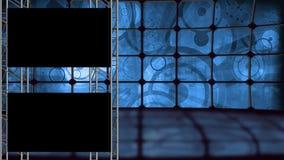 Retro- Hintergrund eingestellt mit Alphakanal stock footage