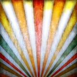 Retro- Hintergrund mit Sonnenstrahlen lizenzfreie abbildung