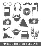 Retro hipster elements Royalty Free Stock Photos