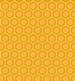 Retro Honingraatpatroon stock illustratie