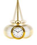 Retro horloge Stock Afbeeldingen
