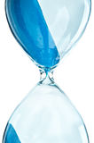 Retro hourglass. Isolated on a white background Stock Image