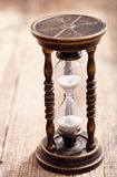 Retro- Hourglass stockfotografie