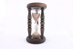 Retro hourglass Royalty Free Stock Photography