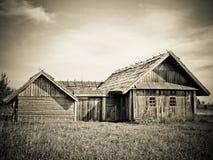 Retro house Stock Photography