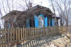 Retro huis Stock Afbeelding