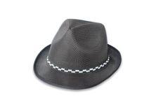 Retro- Hut gegen Weiß Stockbilder