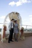 Retro huwelijk Stock Afbeeldingen