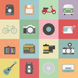 Retro icon Stock Photography