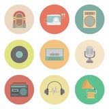 Retro icon Royalty Free Stock Image