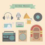 Retro icon Royalty Free Stock Photo