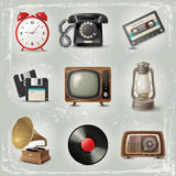 Retro icons Royalty Free Stock Images