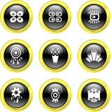 Retro icons Stock Image
