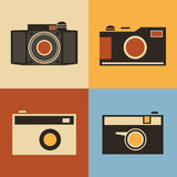 Retro Icons - Cameras Stock Photos