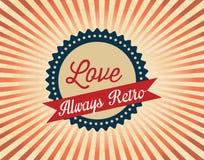 Retro Icons Royalty Free Stock Photography