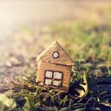 Retro idea of the real estate Stock Photo
