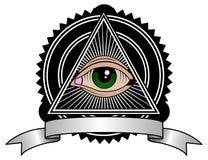 Retro Illuminati royalty-vrije stock fotografie