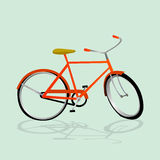 Retro Illustration Bicycle Royalty Free Stock Photos