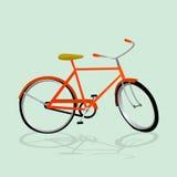 Retro Illustration Bicycle Royalty Free Stock Photos