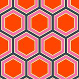 Retro backgrounds and wallpaper in mixt colors and pattern. Retro and illustration geometrical pop abstract stylised design wallpaper as background image, mix Stock Image
