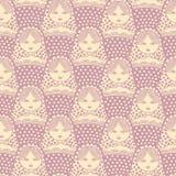 Retro illustrazione russa della bambola di matryoshka Immagine Stock Libera da Diritti