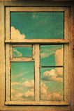 Retro Image With Window Royalty Free Stock Images