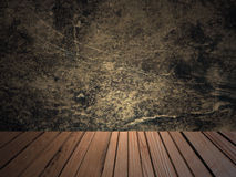 Retro indoor abstract grunge background. Royalty Free Stock Photos